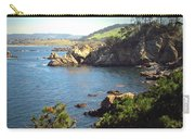 Beautifully Rugged Shoreline At Point Lobos Two Carry-all Pouch