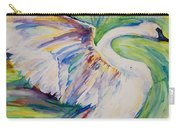 Beauty And Grace Swan Carry-all Pouch