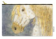 Beauty And Strength  Golden Appaloosa Carry-all Pouch