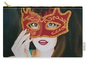 Beauty And The Mask Carry-all Pouch