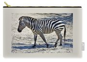 Beauty In Black And White Carry-all Pouch