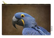 Beauty Is An Enchanted Soul - Hyacinth Macaw - Anodorhynchus Hyacinthinus Carry-all Pouch