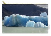 Beauty Of Icebergs Patagonia 6 Carry-all Pouch