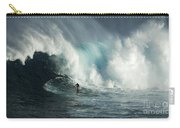Beauty Of Surfing Jaws Maui 7 Carry-all Pouch