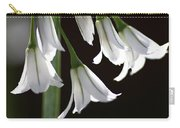 Beauty Of The Snowdrops Carry-all Pouch