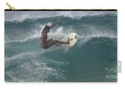 Beauty On A Surf Board Carry-all Pouch