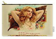 Beauty Vintage Cigar Advertisement  Carry-all Pouch