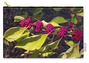 Beautyberry Carry-all Pouch