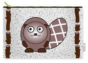 Beaver - Animals - Art For Kids Carry-all Pouch