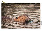 Beaver Feeding Carry-all Pouch