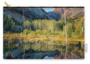Beaver Lake Sierra Nevada Mountains Carry-all Pouch