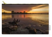 Beaver Lake Sunset Carry-all Pouch