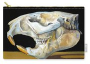 Beaver Skull 1 Carry-all Pouch