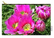 Beaver Tail Cactus Painting Carry-all Pouch