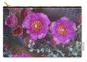Beavertail Cactus Flowering North Carry-all Pouch