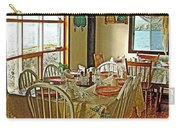 Bed And Breakfast Over The Water At Fishing Point In Saint Anthony-nl Carry-all Pouch