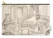 Bedchamber Furniture In The Japanese Carry-all Pouch