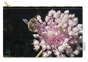 Bee And Allium Carry-all Pouch