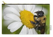 Bee And Daisy Carry-all Pouch