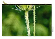 Bee And Teasel Carry-all Pouch