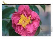 Bee And Wasp On Camellia Carry-all Pouch