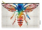 Bee Colorful - Art By Sharon Cummings Carry-all Pouch