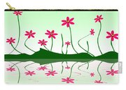 Bee Flowers Carry-all Pouch