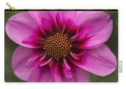 Bee Happy Dahlia Carry-all Pouch