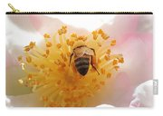 Bee In Camellia Carry-all Pouch