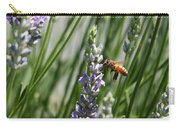 Bee In Lavender Carry-all Pouch