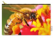 Bee Laden With Pollen 2 By Kaye Menner Carry-all Pouch