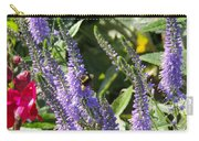 Bee Lavendar Carry-all Pouch
