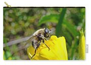 Bee Mimic On Primrose Carry-all Pouch