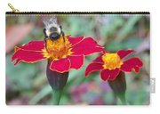 Bee On A Marigold 2 Carry-all Pouch