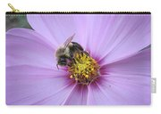 Bee On Cosmos Carry-all Pouch