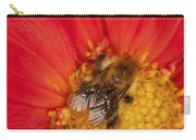 Bee On Dahlia - 2 Carry-all Pouch