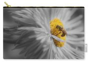 Bee On Daisy Flower Carry-all Pouch