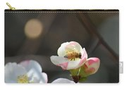 Bee On Japanese Quince Carry-all Pouch