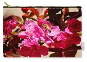 Bee On Pink Blossoms 031015aa Carry-all Pouch