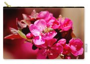 Bee On Pink Blossoms 031015ab Carry-all Pouch