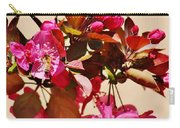 Bee On Pink Blossoms 031015ac Carry-all Pouch