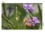 Bee On Purple Loosestrife  Carry-all Pouch