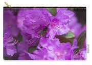 Bee On Rhododendrons Carry-all Pouch