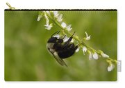 Bee On Wildflower Carry-all Pouch