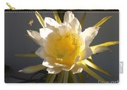Bee Pollinating Dragon Fruit Blossom Carry-all Pouch
