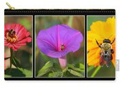 Bee Triptych Carry-all Pouch