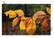 Beech Leaves In Winter Carry-all Pouch