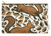 Beechnut Squirrels Carry-all Pouch