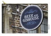 Beer And Ginhouse Carry-all Pouch