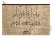 Beer Brewery Patent Illustration Carry-all Pouch